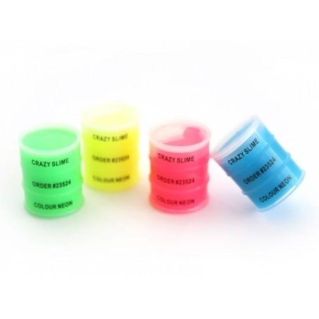 Petite boîte de slime - vert fluo  - 2