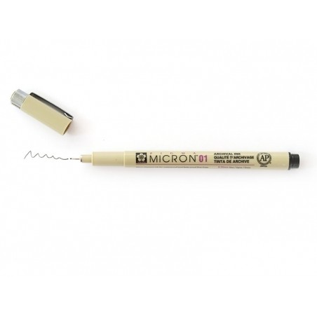 Acheter Stylo micron Sigma - taille 01 - noir - 3,49€ en ligne sur La Petite Epicerie - 100% Loisirs créatifs