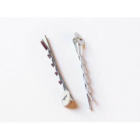 Acheter 1 support barette Argenté clair - 0,39€ en ligne sur La Petite Epicerie - 100% Loisirs créatifs