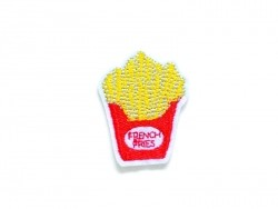 Iron-on patch - French fries / chips