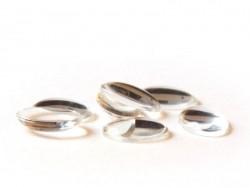 Cabochon en verre - Ovale 18x13 mm