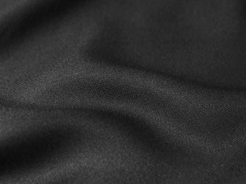 Tissu crêpe noir Atelier Brunette - 1