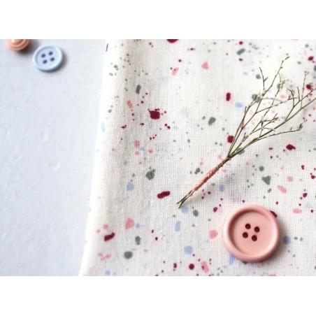 Tissu en coton Terrazzo Shell Atelier Brunette - 2