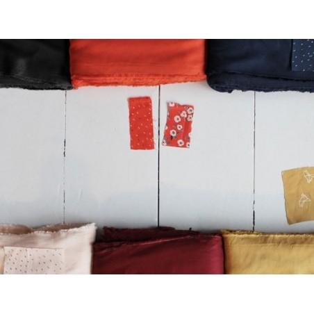 Tissu crêpe noir Atelier Brunette - 2