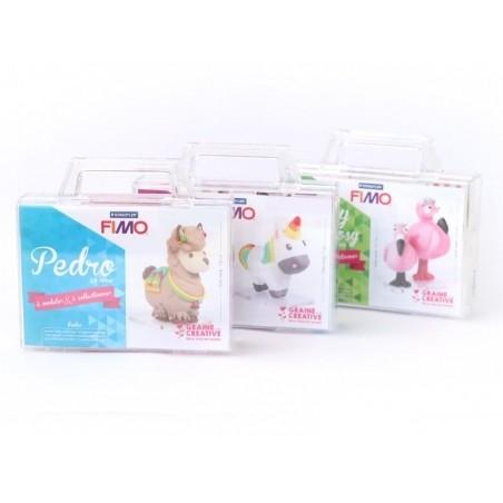 Acheter Kit Fimo - Malette Lilie la licorne - figurine à modeler - 13,99€ en ligne sur La Petite Epicerie - 100% Loisirs cré...