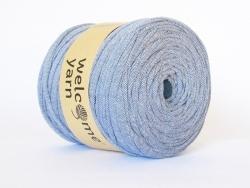 Grande bobine de fil trapilho - tweed bleu