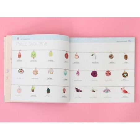 Livre Comment fabriquer ses bijoux en pâte polymère - Jessica Sharpe Marabout - 4