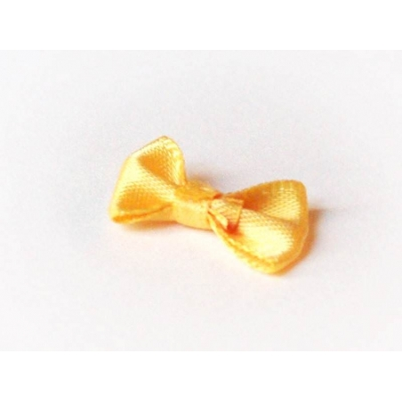 Noeud jaune bouton d'or - 3 cm  - 2