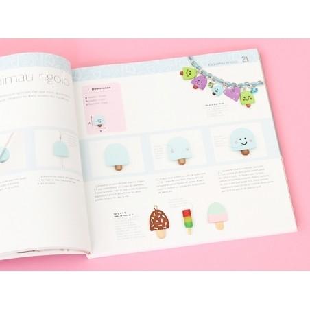 Livre Comment fabriquer ses bijoux en pâte polymère - Jessica Sharpe Marabout - 5