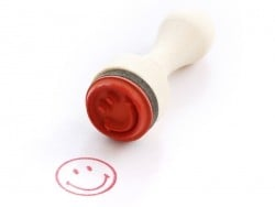 Mini stamp - Smiley