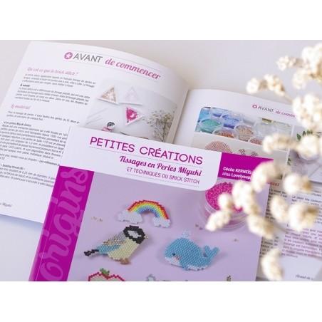 Livre Petites créations en perles miyuki de Lovelyoupi  - 3