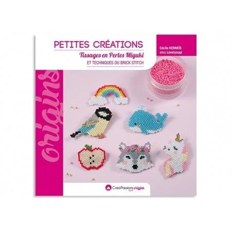 Livre Petites créations en perles miyuki de Lovelyoupi  - 1