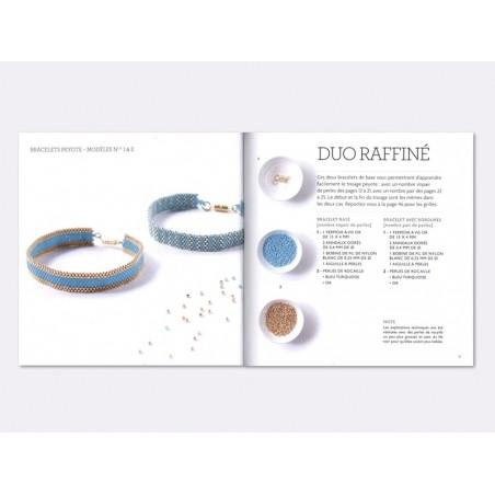 Livre Bracelets Peyote - techniques et modèles - Agnès Delage- Calvet Marabout - 2