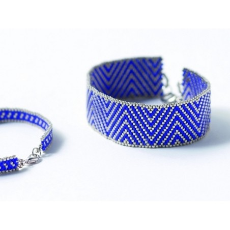 Livre Bracelets Peyote - techniques et modèles - Agnès Delage- Calvet Marabout - 3