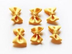 Noeud jaune bouton d'or - 3 cm  - 3