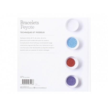 Livre Bracelets Peyote - techniques et modèles - Agnès Delage- Calvet Marabout - 5