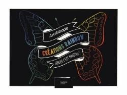 Mini coffret cartes à gratter - créations rainbow Hachette - 1
