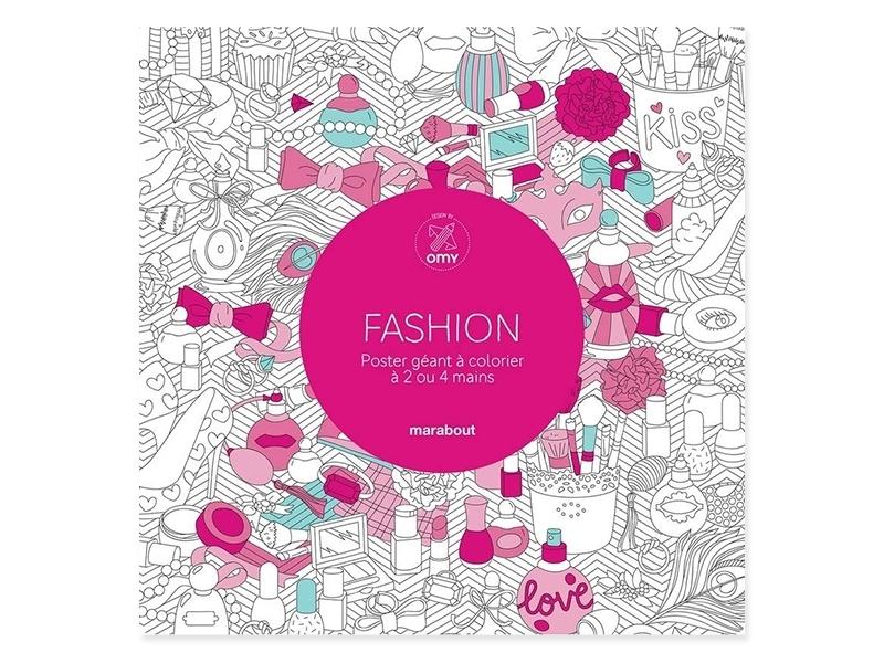 Acheter Poster géant à colorier - fashion - 5,99€ en ligne sur La Petite Epicerie - 100% Loisirs créatifs