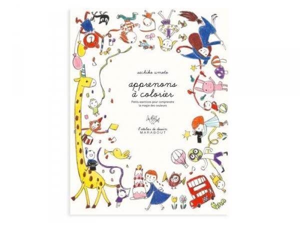 Livre Apprenons à colorier - Sachiko Umoto Marabout - 1