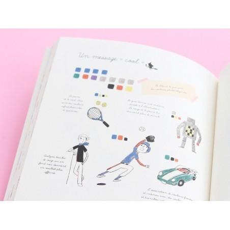 Livre Apprenons à colorier - Sachiko Umoto Marabout - 2