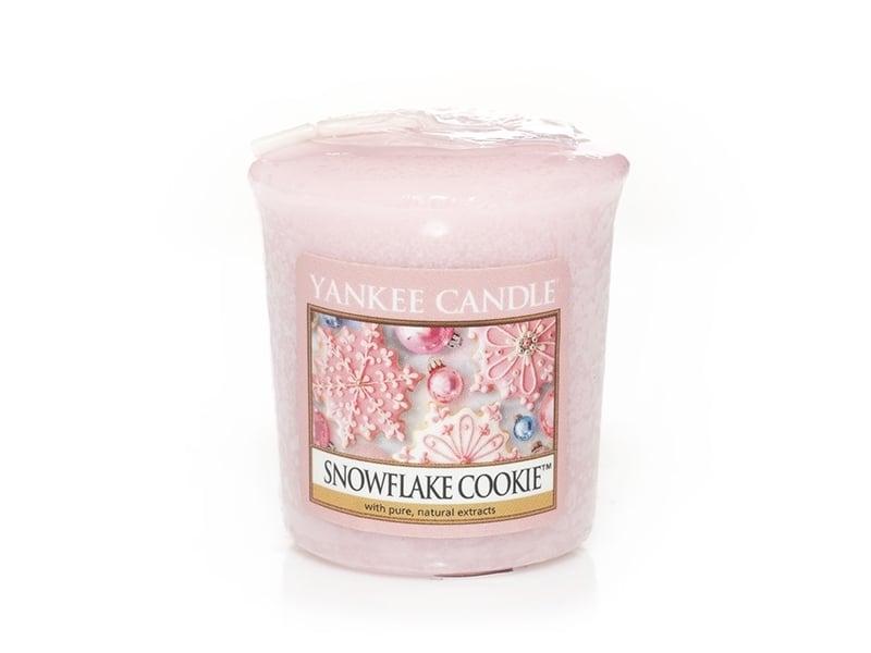 Acheter Bougie Yankee Candle - Snowflake cookie / Flocon sucré - Bougie votive - 2,69€ en ligne sur La Petite Epicerie - 100...