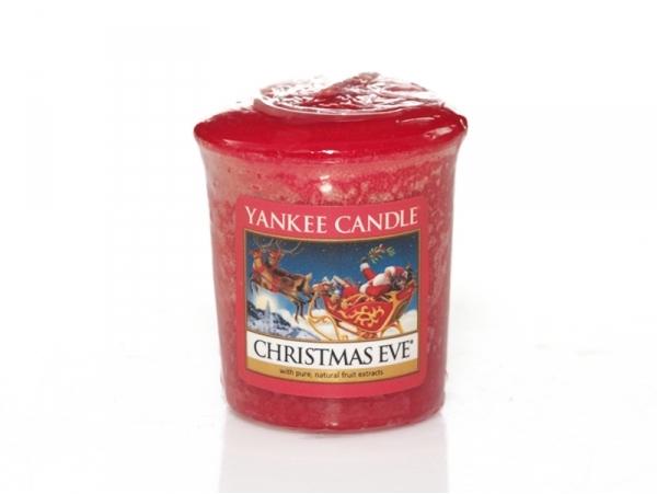 Carte Bleue Yankee.Bougie Yankee Candle Christmas Eve Reveillon De Noel Bougie Votive
