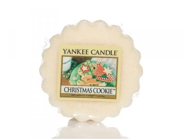 Acheter Bougie Yankee Candle - Christmas cookie / Cookie de Noël - Tartelette de cire - 2,29€ en ligne sur La Petite Epiceri...