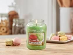 Bougie Yankee Candle - Macaron treats / Macarons gourmands - Petite jarre