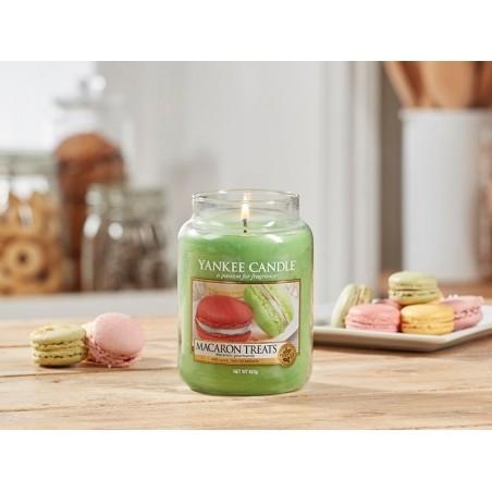 Acheter Bougie Yankee Candle - Macaron treats / Macarons gourmands - Petite jarre - 11,89€ en ligne sur La Petite Epicerie -...