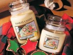 Bougie Yankee Candle - Christmas cookie / Cookie de Noël - Bougie votive