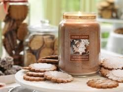 Bougie Yankee Candle -  Iced Gingerbread / Pain d'épices et sucre glace - Tartelette de cire
