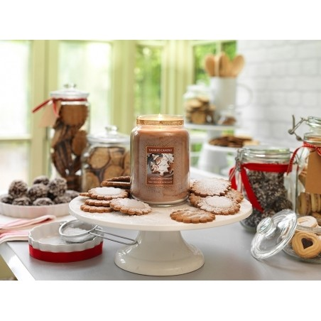 Bougie Yankee Candle -  Iced Gingerbread / Pain d'épices et sucre glace - Bougie votive Yankee Candle - 2
