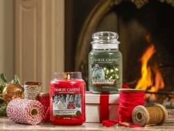 Bougie Yankee Candle - Christmas Magic / Magie de Noël - Tartelette de cire