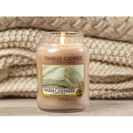 Acheter Bougie Yankee Candle - Warm cashmere / Cachemire délicat - Tartelette de cire - 2,29€ en ligne sur La Petite Epiceri...
