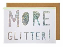 Carte de voeux - more Glitter
