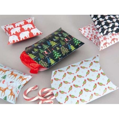 Acheter 6 pochettes cadeaux forêt en hiver - 3,49€ en ligne sur La Petite Epicerie - Loisirs créatifs