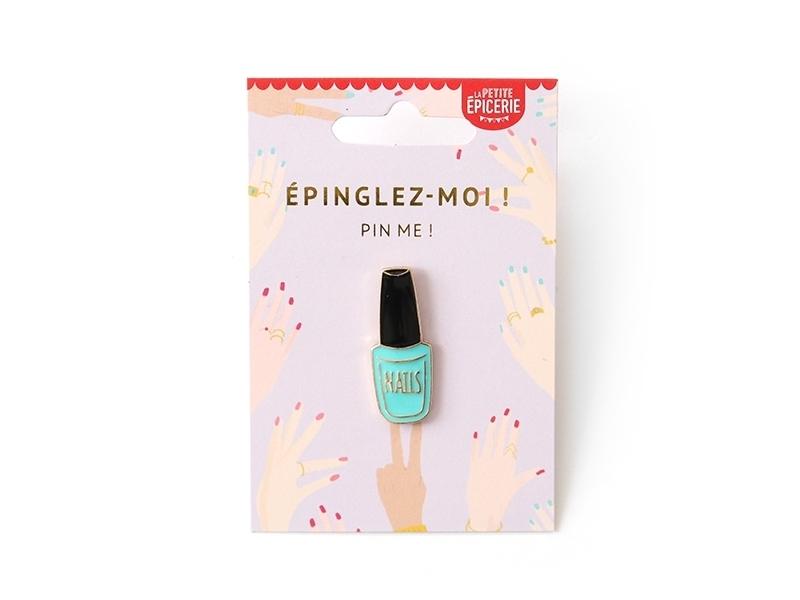 Acheter Broche pin's émaillé vernis à ongles - 4,99€ en ligne sur La Petite Epicerie - 100% Loisirs créatifs