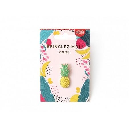 Acheter Broche pin's émaillé ananas - 4,99€ en ligne sur La Petite Epicerie - 100% Loisirs créatifs