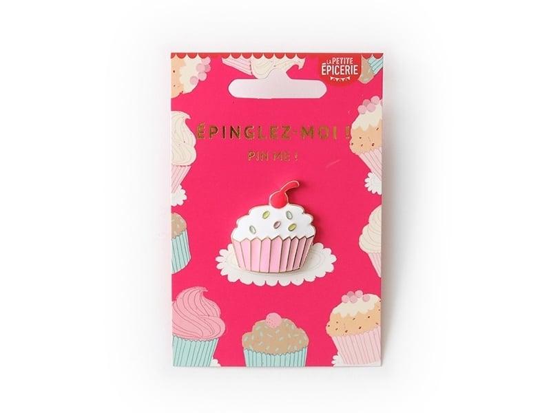 Acheter Broche pin's émaillé cupcake - 4,99€ en ligne sur La Petite Epicerie - Loisirs créatifs