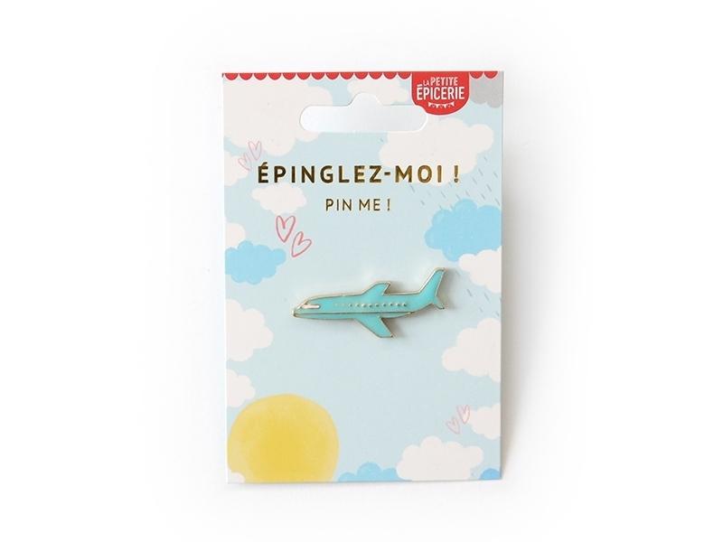 Acheter Broche pin's émaillé avion - 4,99€ en ligne sur La Petite Epicerie - Loisirs créatifs