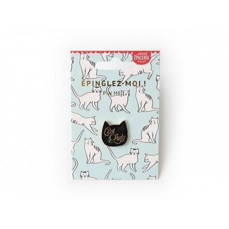 Acheter Broche pin's émaillé Cat Lady - 4,99€ en ligne sur La Petite Epicerie - Loisirs créatifs