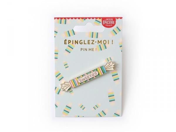 Acheter Broche pin's émaillé bonbon - 4,99€ en ligne sur La Petite Epicerie - 100% Loisirs créatifs
