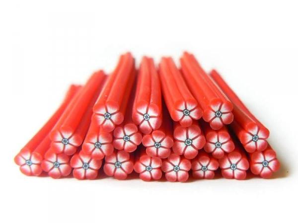 Acheter Cane fleur rouge au coeur noir - 0,99€ en ligne sur La Petite Epicerie - Loisirs créatifs