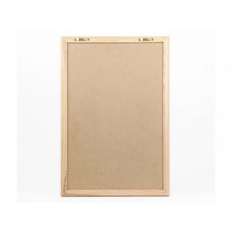 Letter board - cadre noir avec lettres - 40 x 50 cm  - 2