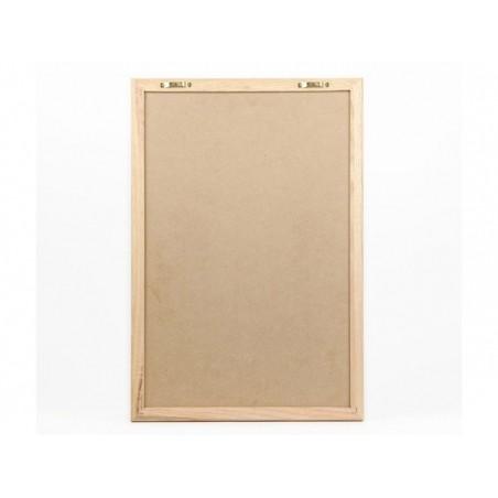 Letter board - cadre blanc avec lettres - 30x45 cm   - 3