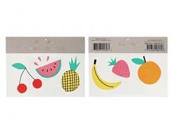 6 Tatouages temporaires -jolis fruits Meri Meri - 1