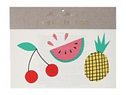 Acheter 6 Tatouages temporaires -jolis fruits - 2,49€ en ligne sur La Petite Epicerie - 100% Loisirs créatifs