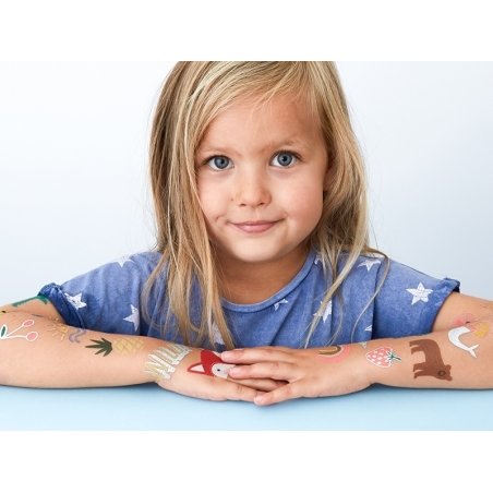 Acheter 26 Tatouages temporaires - yeux et coeurs graphiques - 2,49€ en ligne sur La Petite Epicerie - 100% Loisirs créatifs