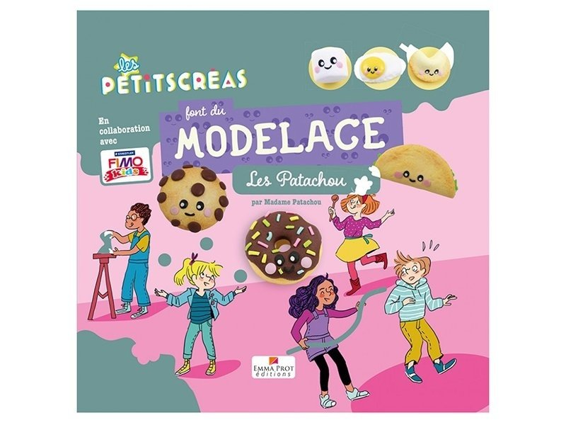 """Acheter Livre """"Les petits créas font du modelage"""" de Madame Patachou - 13,90€ en ligne sur La Petite Epicerie - 100% Loisirs..."""