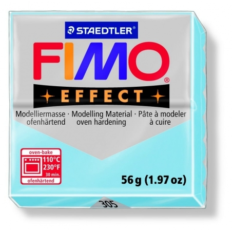 Fimo Effect - pastel colour aqua no. 305